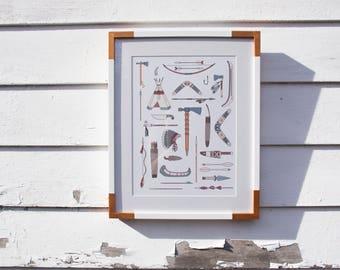 Native Things Print