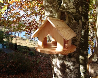 bird feeder house, bird house, to hang, personalisable