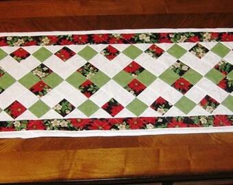 Christmas Tiled Table Runner