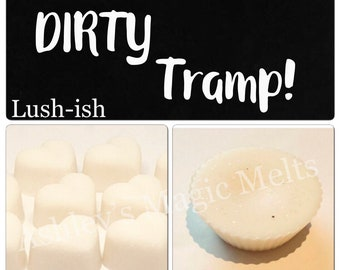tramps lush designer perfume dupe type soy wax melts, designer dupe, perfume dupe melts, cheap wax melts, scented wax melts, uk wax