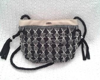 Sweet Black bag handmade