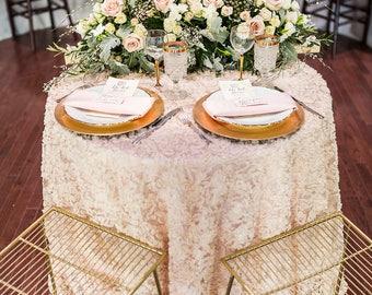 Rosette Tablecloth | Rosette Table Linen | Wedding Table Linen |  wedding tablecloth | Lace Tablecloth | Lace overlay | Rosette linen