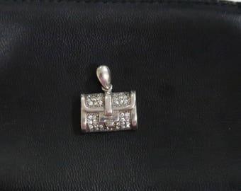 Handbag/purse sterling 925 pendant