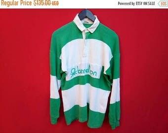 vintage Benetton polo long slevees medium mens shirt