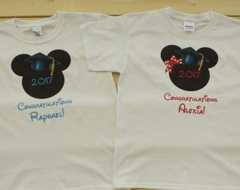 Disney Personalized Shirts, Disney Graduation Shirts, Mickey Mouse Shirts, Minnie Mouse Shirts, Disney Family Shirts, Disney Vacation Shirts