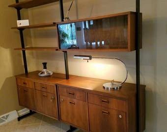 Mid Century Modern wall unit / filing cabinet / office furniture