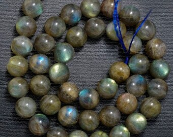 Natural Blue Labradorite Beads, Gemstone Beads, Jewelry Round Beads, Natural Stone Beads,  2mm 3mm 4mm 6mm 8mm 10mm 12mm 15''5 strand,