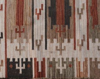 Vintage Wool Rug, Unfinished