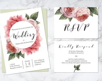 Blush Blooms Wedding Suite