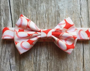 Baseball Baby/Child Bow Tie