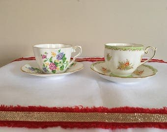 Bell and Clare tea cup and saucer duo