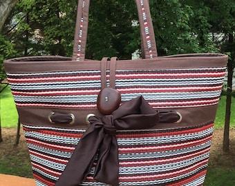 Claudia Tote, Custom Tote, Market Bag, Beach Bag, Carryall