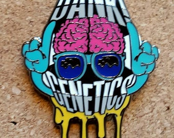Dank Genetics Pin