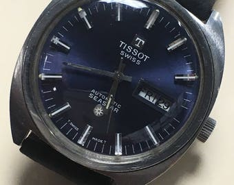 Vintage Tissot Seastar Automatic with Day/Date.