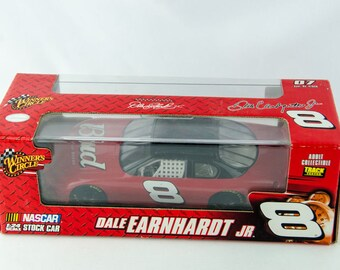 Winners Circle Dale Earnhardt Jr. #8 Budweiser Nascar 1/24 Scale Diecast Model