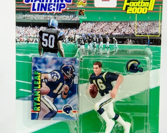 Starting Lineup 1999 NFL San Diego Chargers Ryan Leaf Action Figure