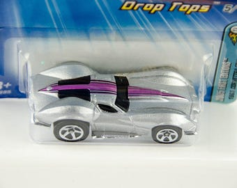 Hot Wheels 2005 First Edition Drop Tops #25 1963 Corvette 1/64 Diecast