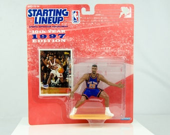 Starting Lineup NBA 1997 Allan Houston Action Figure New Yorks Knicks
