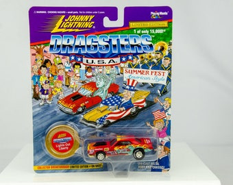 Johnny Lightning Dragsters USA Limited Edition Lights Out Liberty 1/64 Diecast
