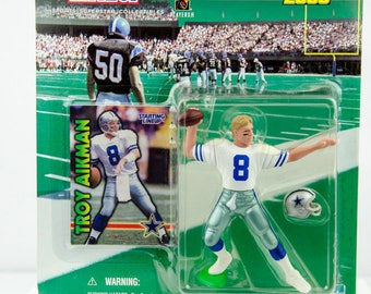 Starting Lineup 1999 NFL Dallas Cowboys Troy Aikman Action Figure