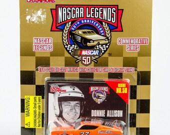 Racing Champions Nascar Legends Donnie Allison Mercury Cyclone 1/64 Diecast