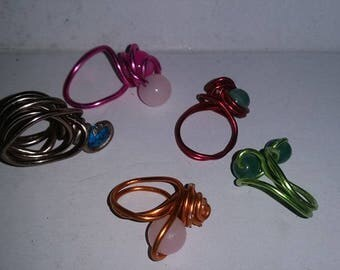 Scarf  Rings