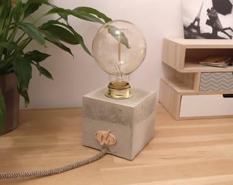 Lamp concrete light Lily Sigma