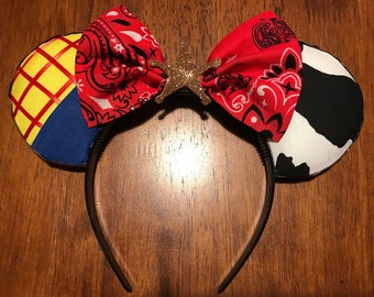 Toy story Woody mickey ears!