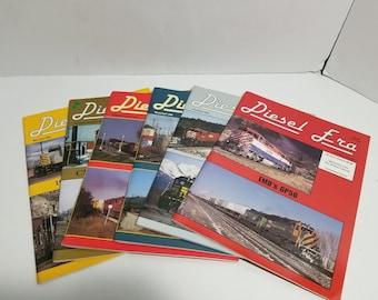 Vintage Diesel Era Train Magazine Complete Year 1994 Volume 5 1-6