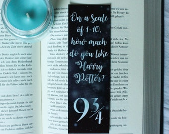 Harry Potter 9 3/4 Bookmark