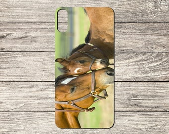 Beautiful Horses TPU Case For iPhone 5/5S 6/6S 7 8 & X (S2027)