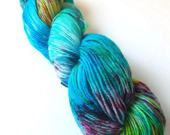 Untitled 01 - Postscript Fingering - Hand-Dyed Sock Yarn