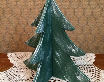 3-D Wooden Christmas Tree