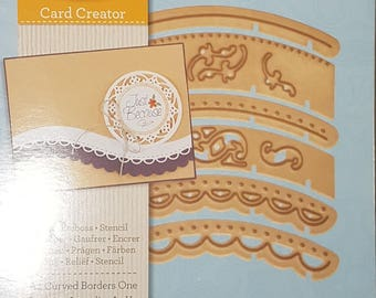 6 PC Border Dies Set for Scrapbooking or Card Making