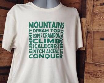 Mountain climbers t shirt