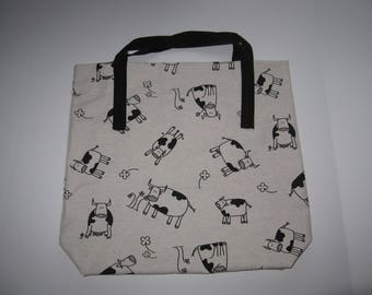 Moovalous Cow themed Shopping/Tote Bag