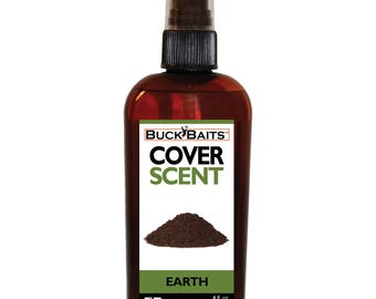 Earth Cover Scent  4 Oz. With Spray Mister