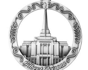 Gilbert Arizona LDS Temple Ornament