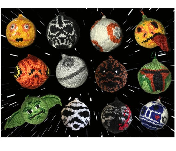 Star Wars Ornaments Pattern