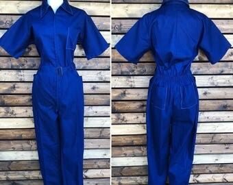 Vintage 70's Coverall Jumpsuit