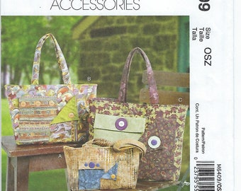 McCalls 6409 - Bags / Purses