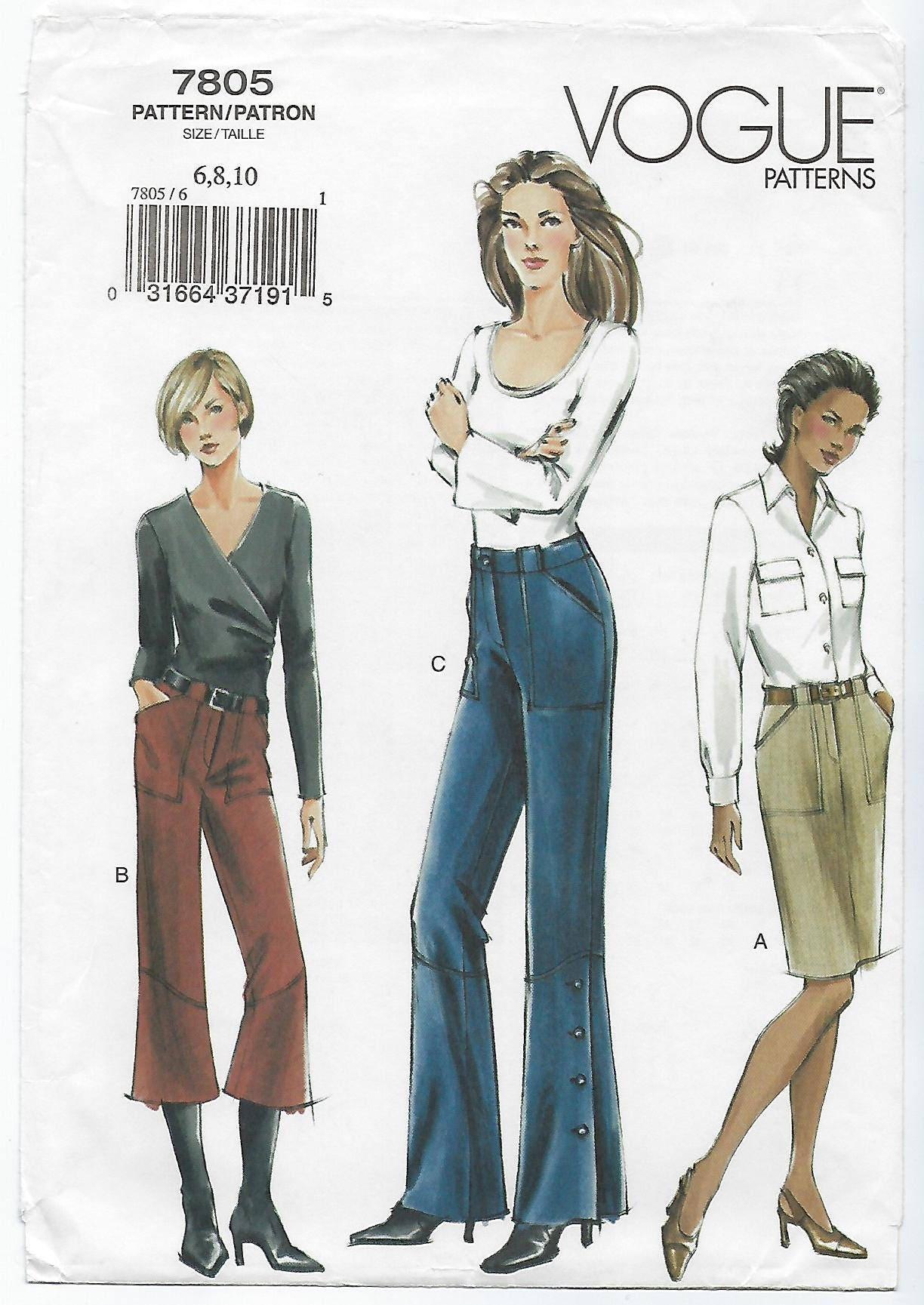 Image result for Vogue 7805