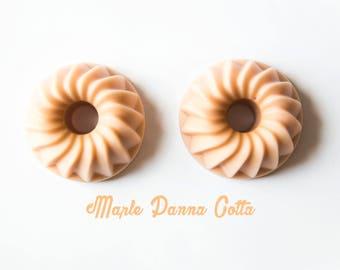 Maple Panna Cotta Wax Melt Bundt Cakes (4.3 Oz.) - Wax Cakes - Maple - Hand Poured Wax - Handmade Wax Melts - Unique Wax - Bakery Wax Melts