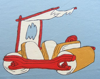 Flinstones Car