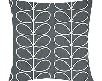 Orla Kiely Linear stem Cushion covers (Grey)