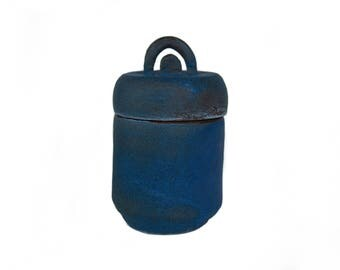 Blue Ruin Canopic Urn