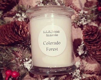 Colorado Forest Soy Wax Candle