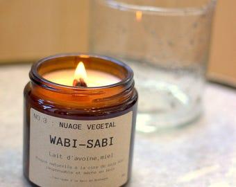Candle Wabi-Sabi NO.3: Cloud plant