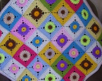 Crochet Baby Blanket, Baby Afghan, Infant Blanket, Newborn Baby, Stroller Blanket, Travel Blanket, , Handmade