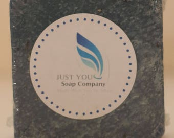 Blue Berry Scrub  Cold process all natural soap